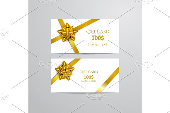 elegant birthday gift card example