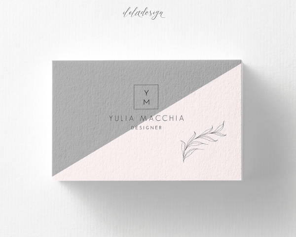 elegant business card example1
