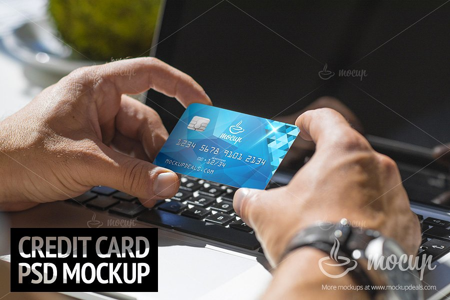elegant debit card design example1