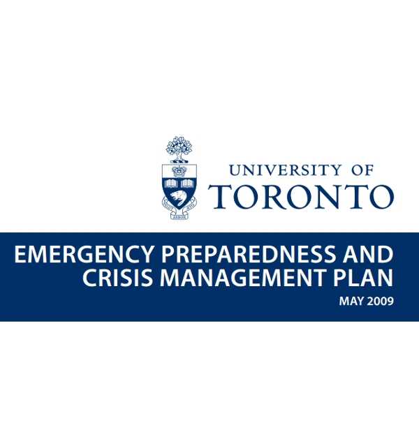 emergency crisis management plan
