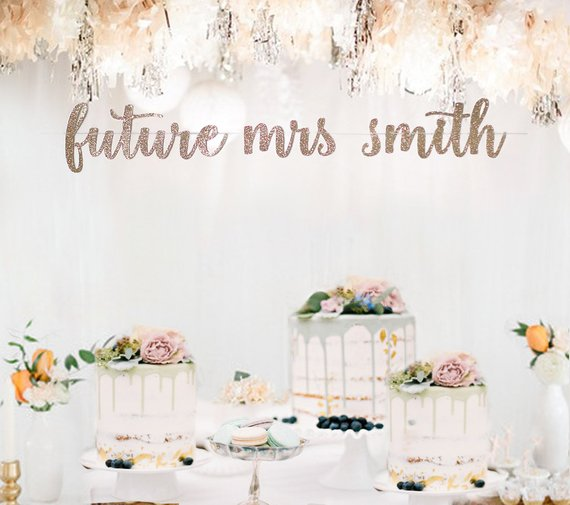 engagement party banner example