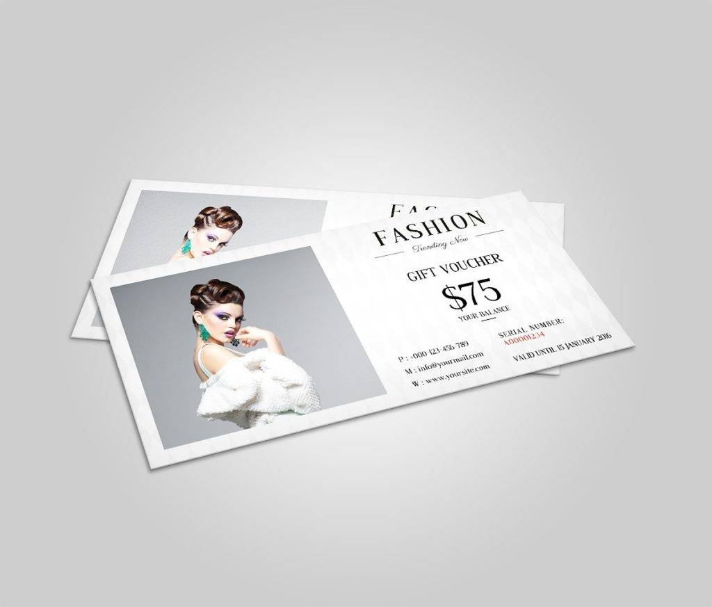 fashion cash voucher example