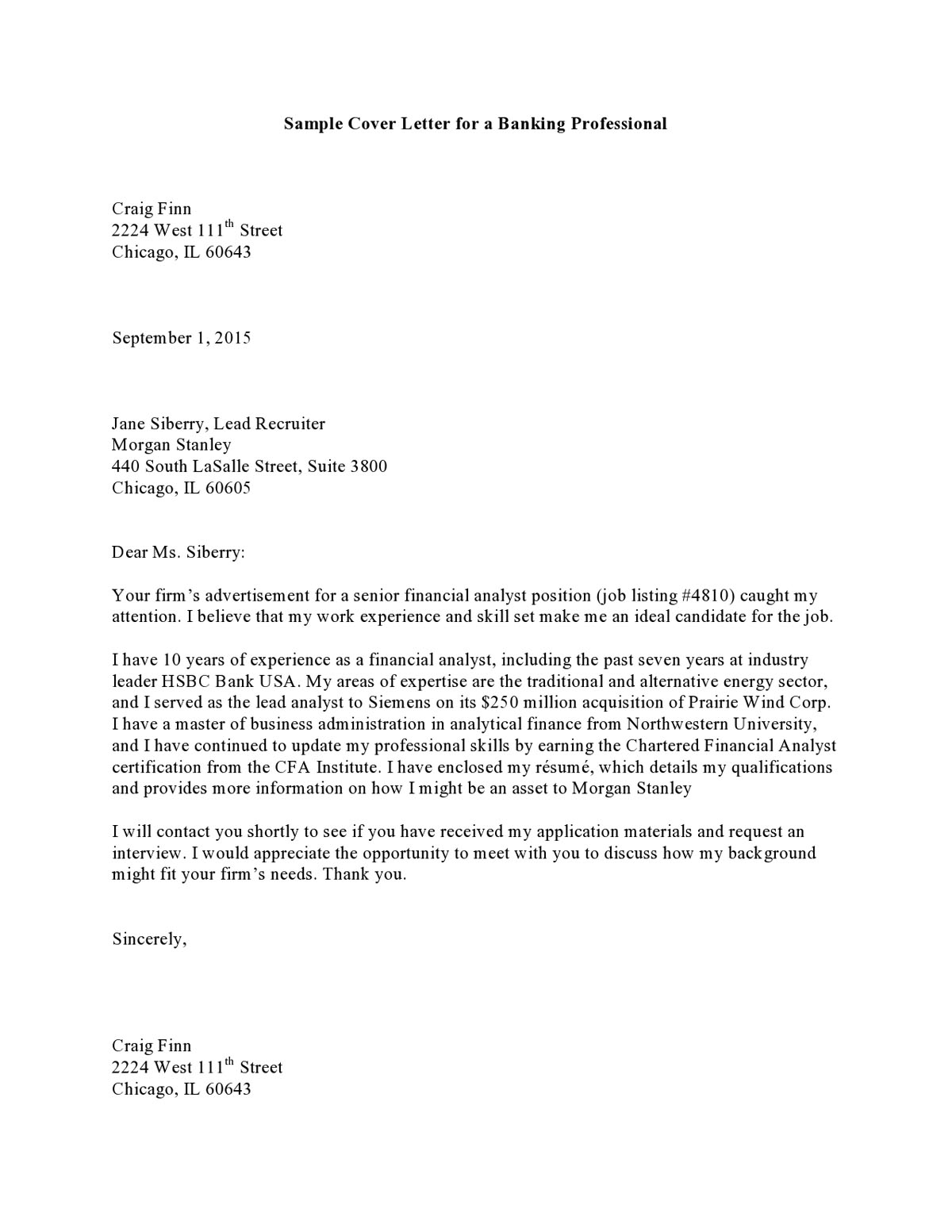 example of a cover letter for a job 10 resume cover letter examples pdf 6252