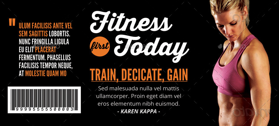 fitness first today voucher example