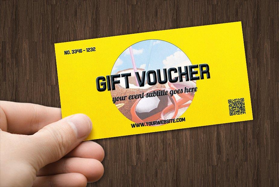 fresh multipurpose prize voucher example