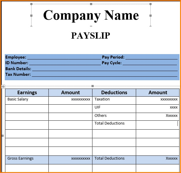 9+ Salary Slip Examples - PDF
