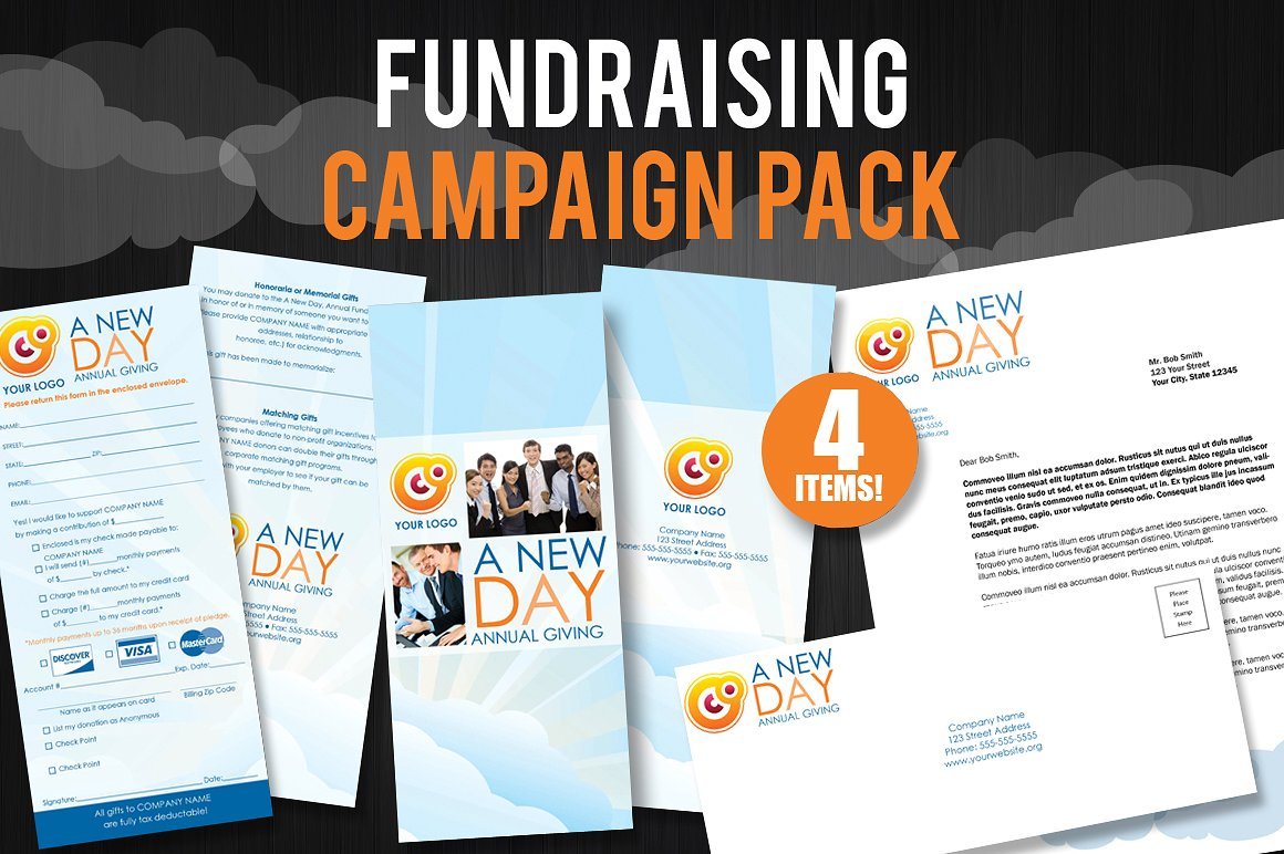 fundraising campaign pack example