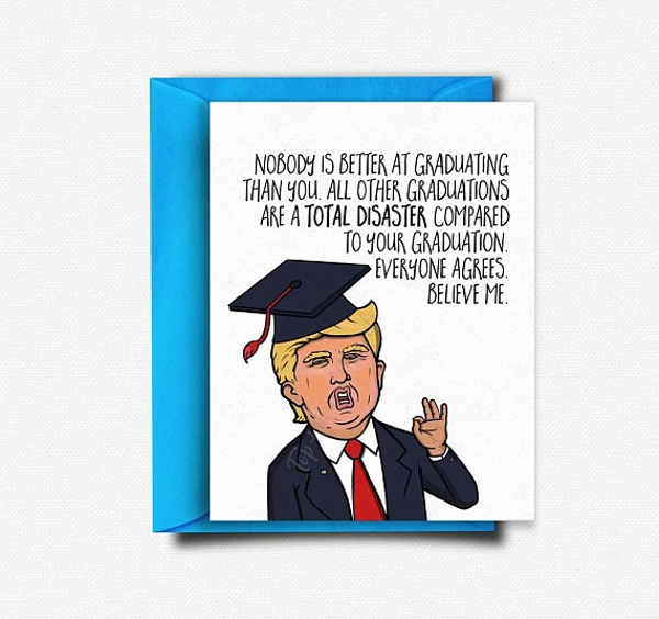 funny graduation gift card