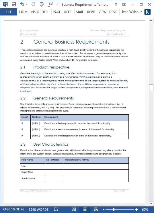 19 Business Requirements Document Examples Pdf Examples
