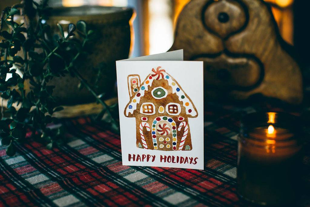 gingerbread holiday card example 1024x683