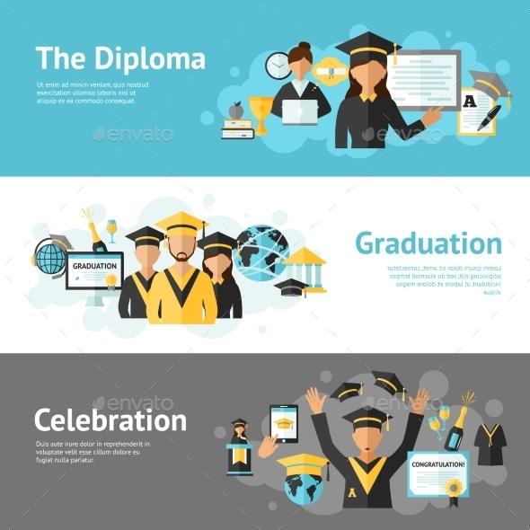 graduation banner set example