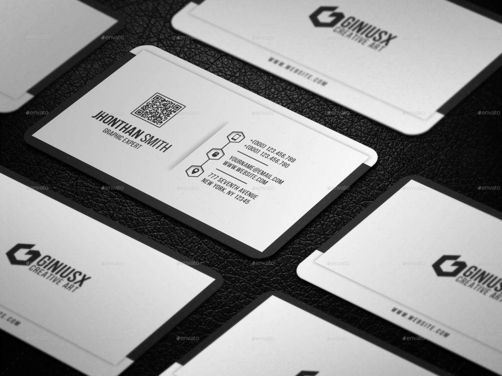 graphic expert business card example