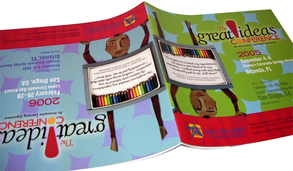 great ideas conference brochure