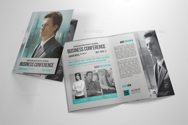 12  conference brochure designs and examples