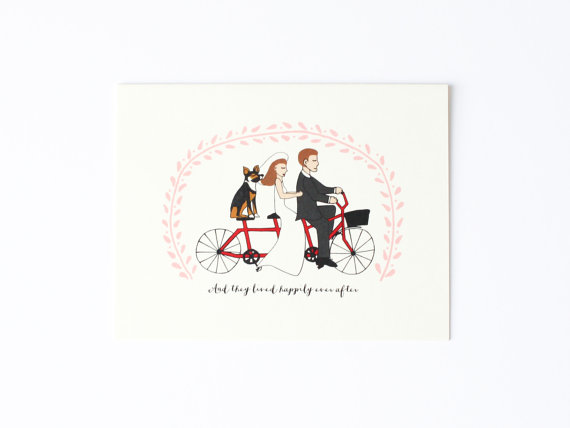 happily ever after wedding card example