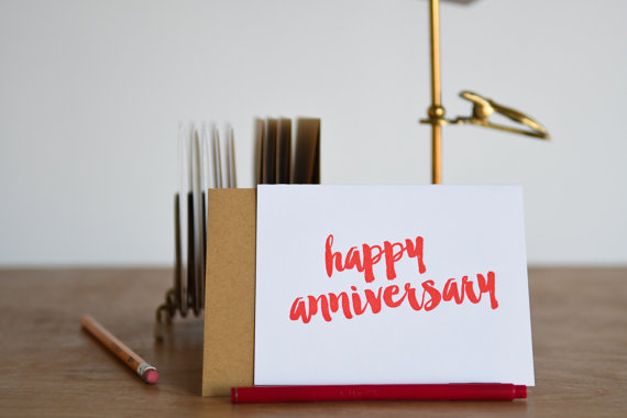happy anniversary greeting card example