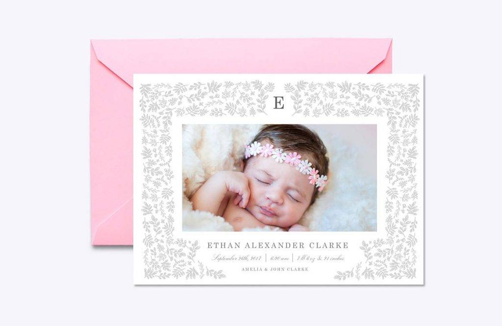 14+ Birth Announcement Designs and Examples - PSD, AI ...