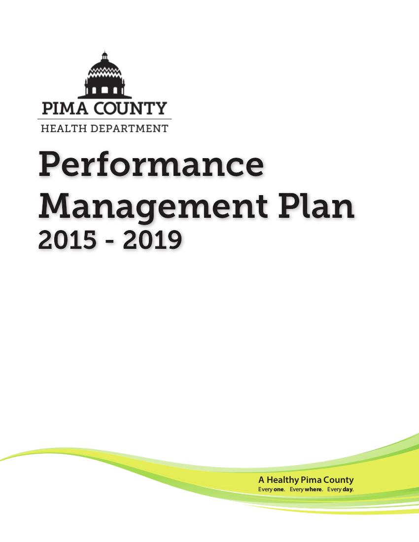 health department performance management plan