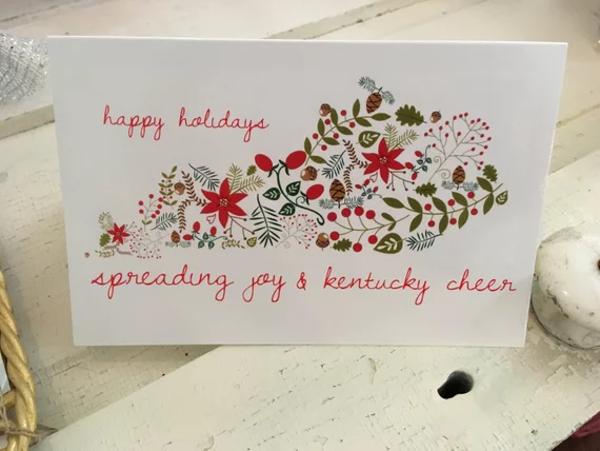 holiday gift card set