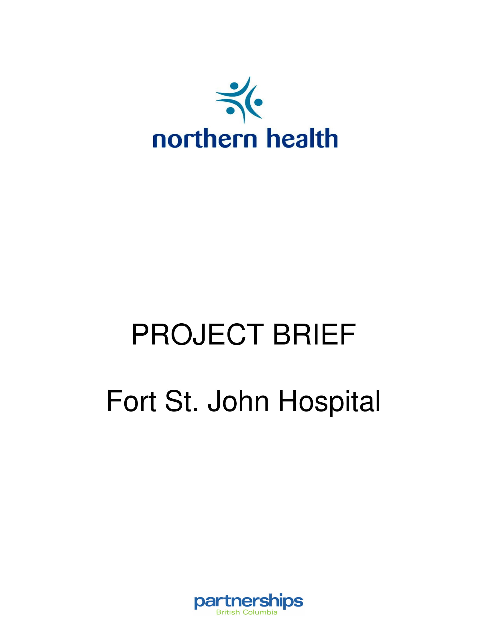 hospital construction project brief example