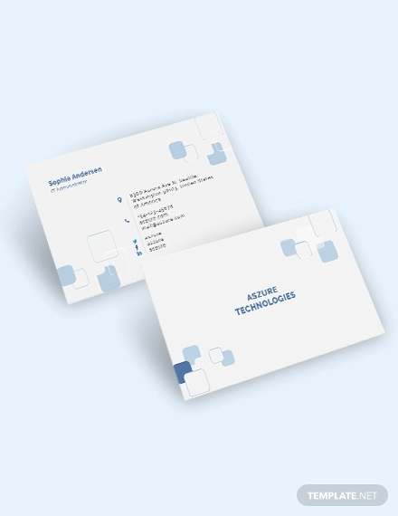 it business card