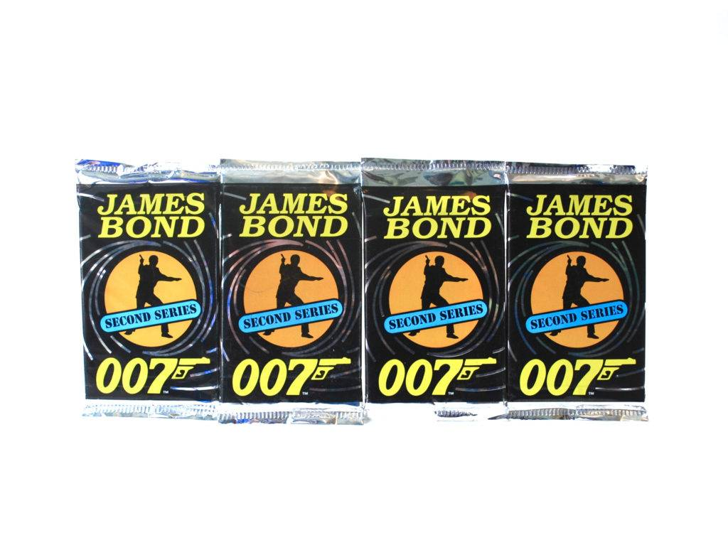 james bond trading card pack example