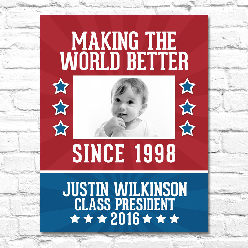 kids campaign poster example