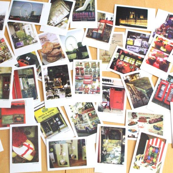 london travel postcard example
