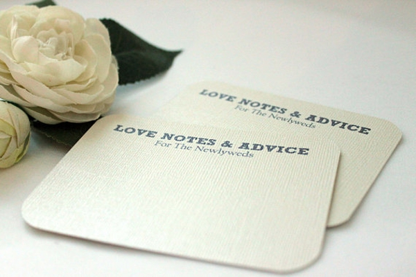 love note comment card