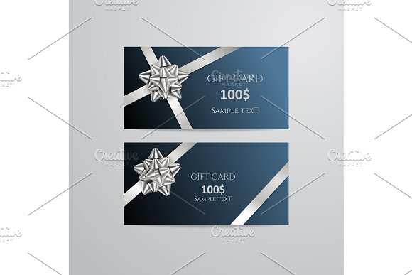 luxurious birthday gift card example