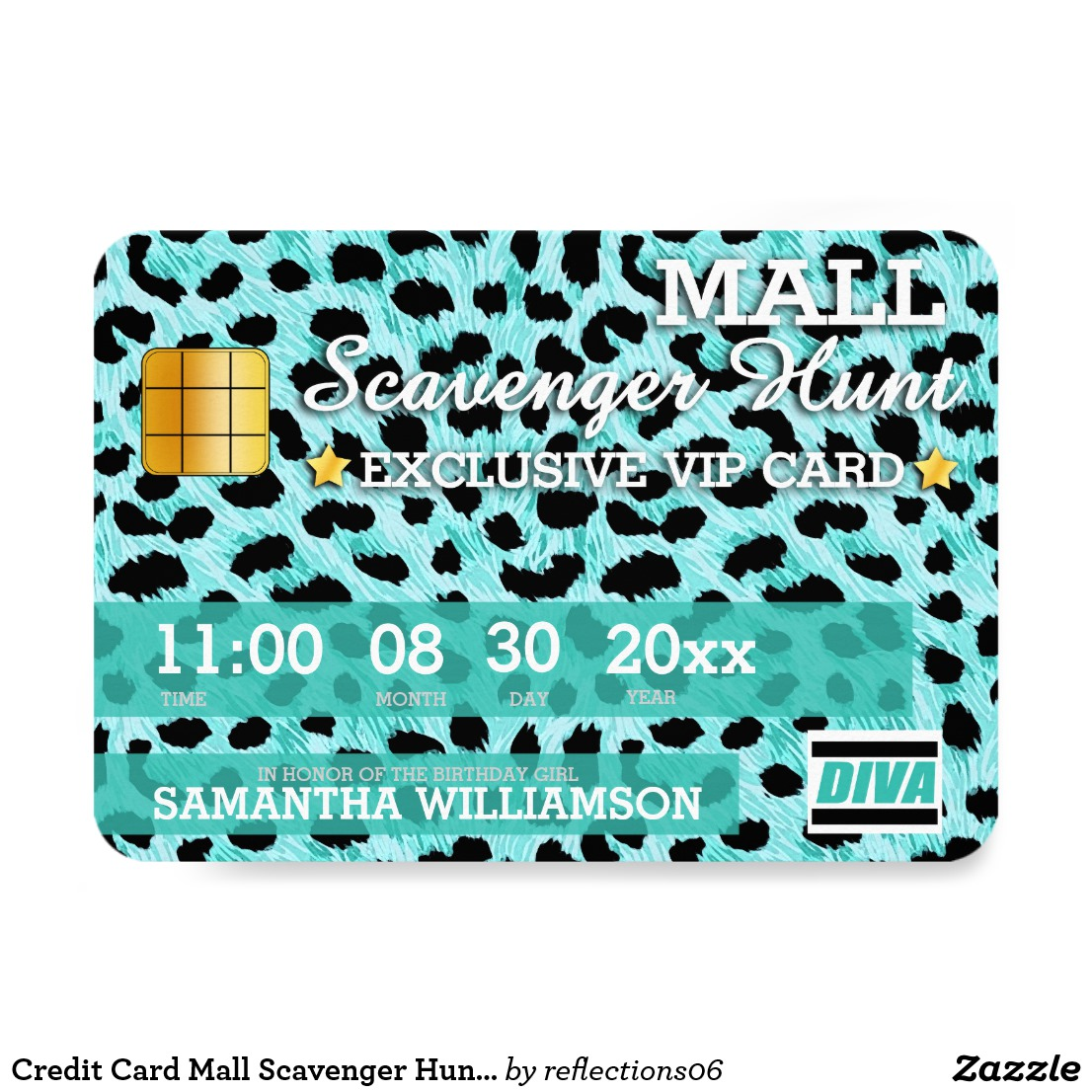 mall exclusive blue debit card example1
