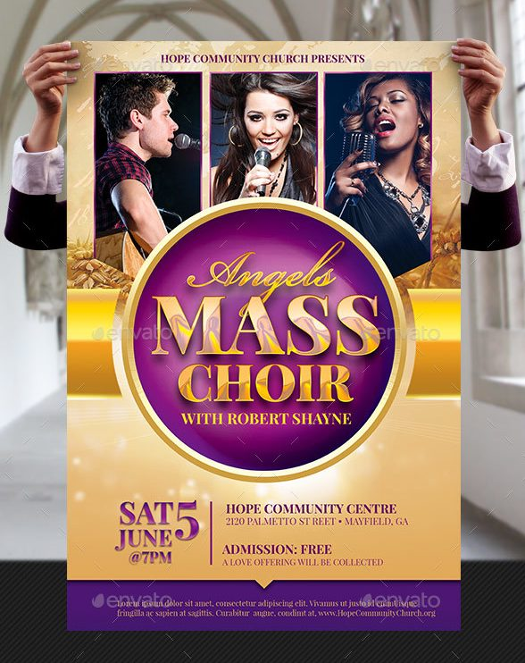 mass choir concert poster example e1526883056955