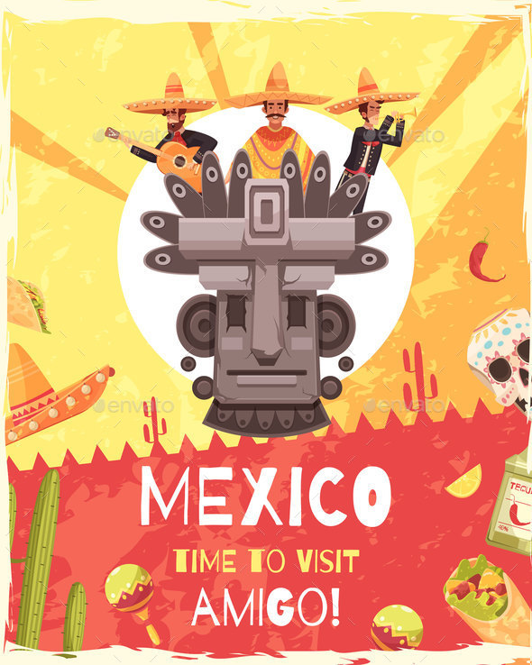 mexico travel poster example
