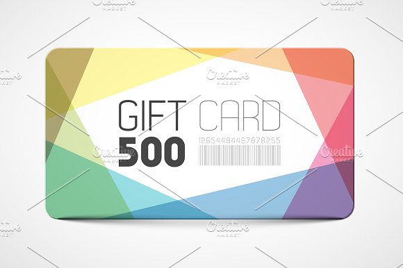 minimalist birthday gift card example