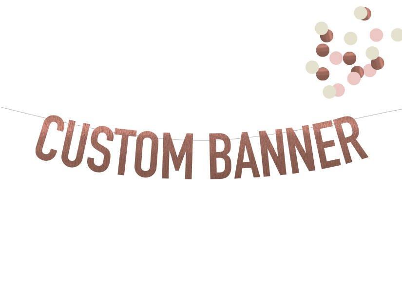 modern long word custom banner example