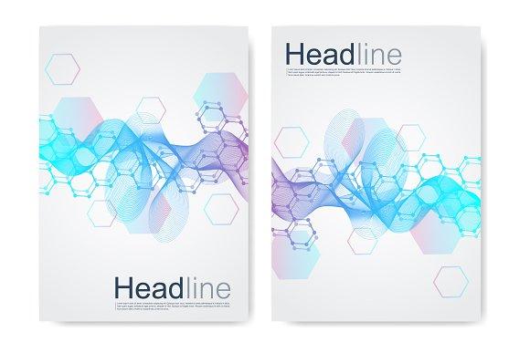 molecular poster design example