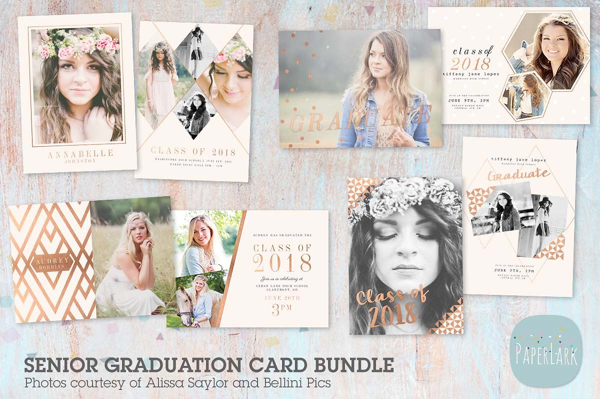 new graduation card bundle example