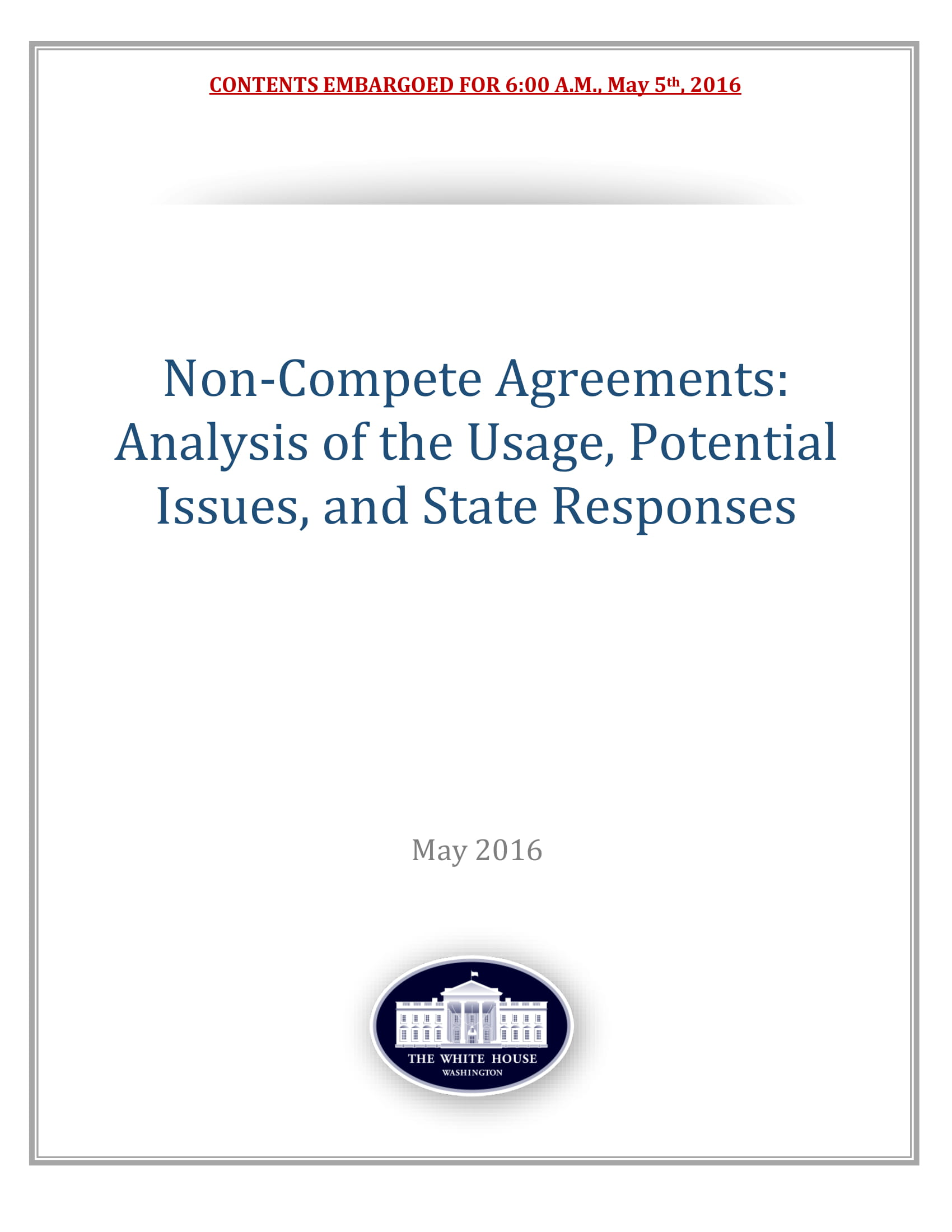 non compete agreement guide and example