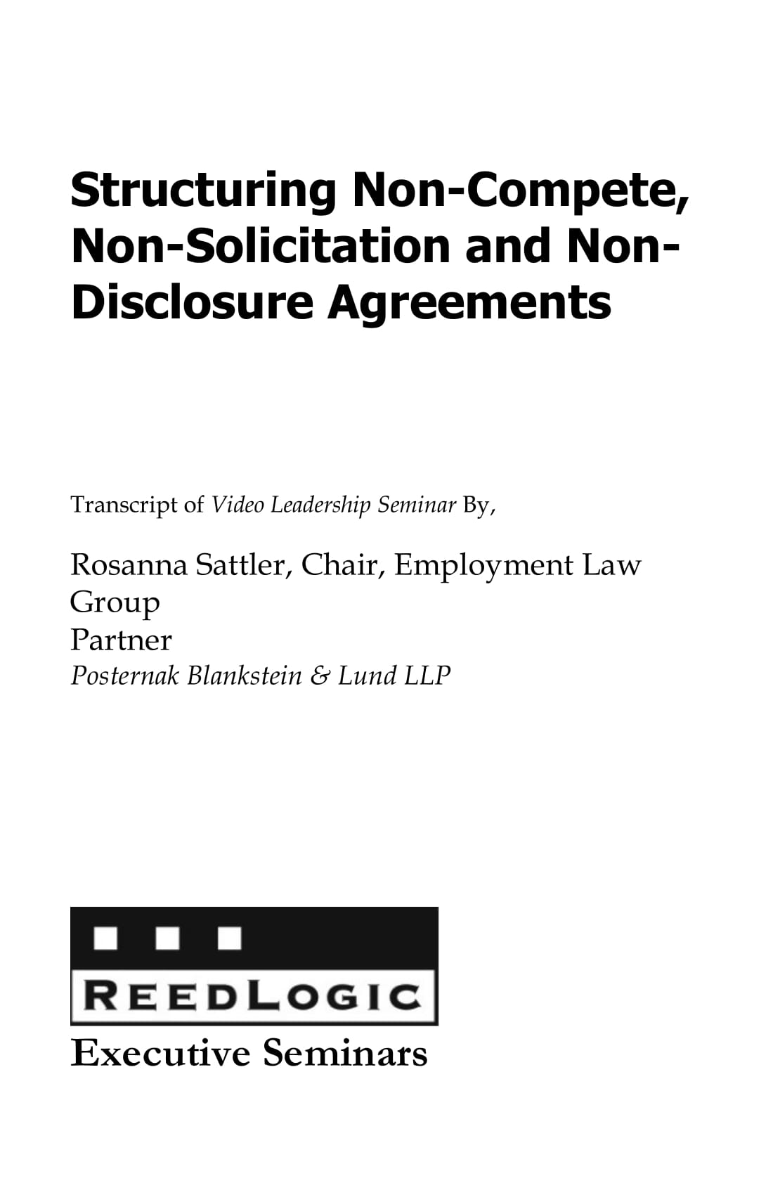 non solicitation and non disclosure agreement example