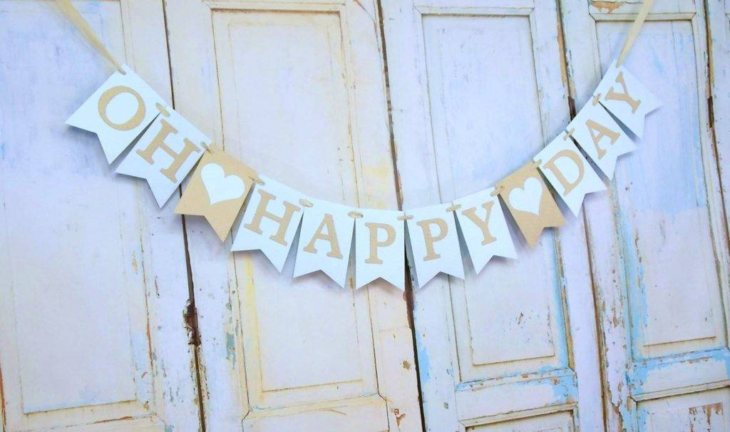 oh happy day wedding banner example 1024x606