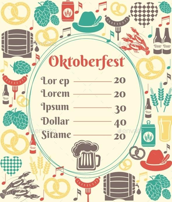 oktoberfest party menu example