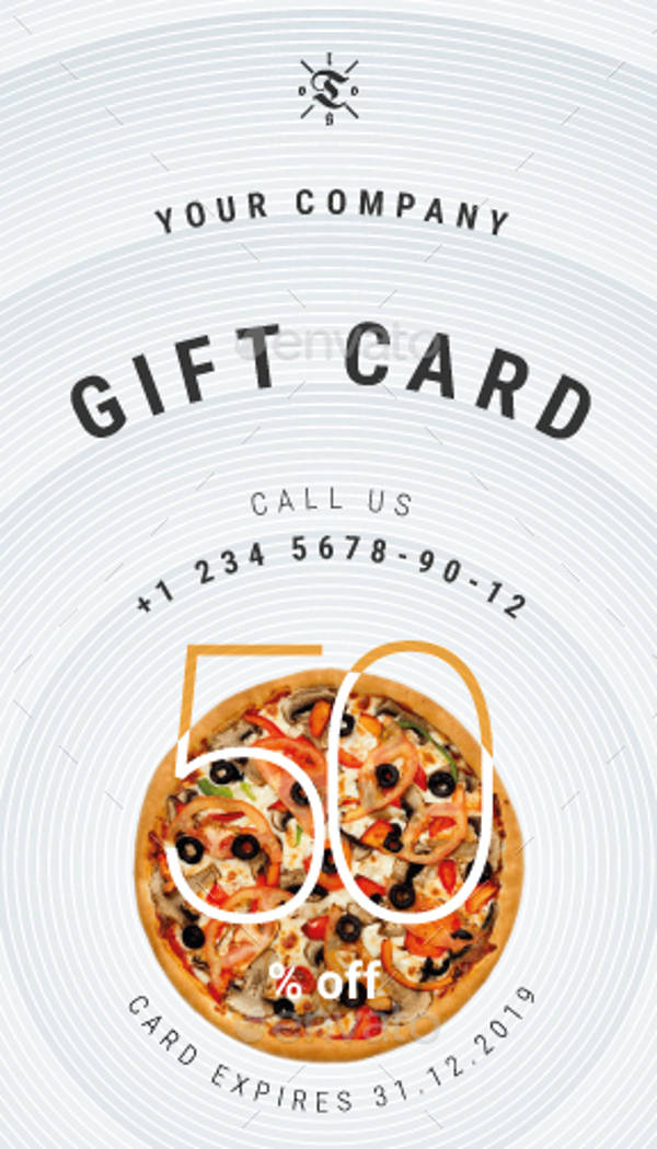 percent off gift card example1