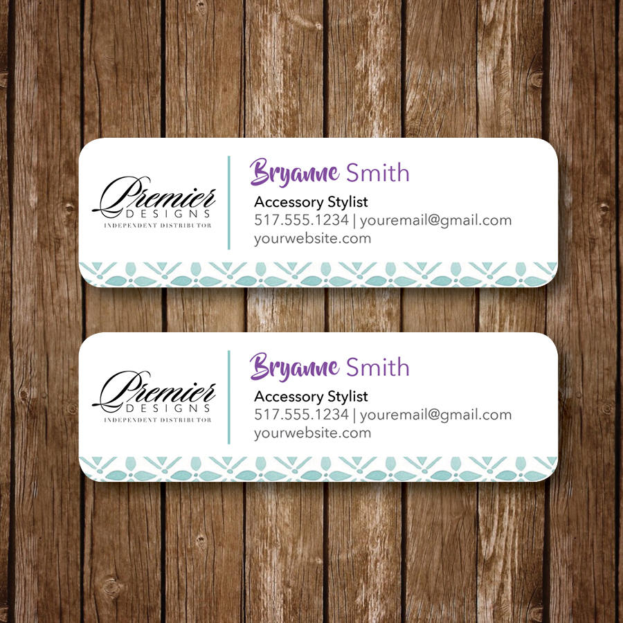 personalized address label example