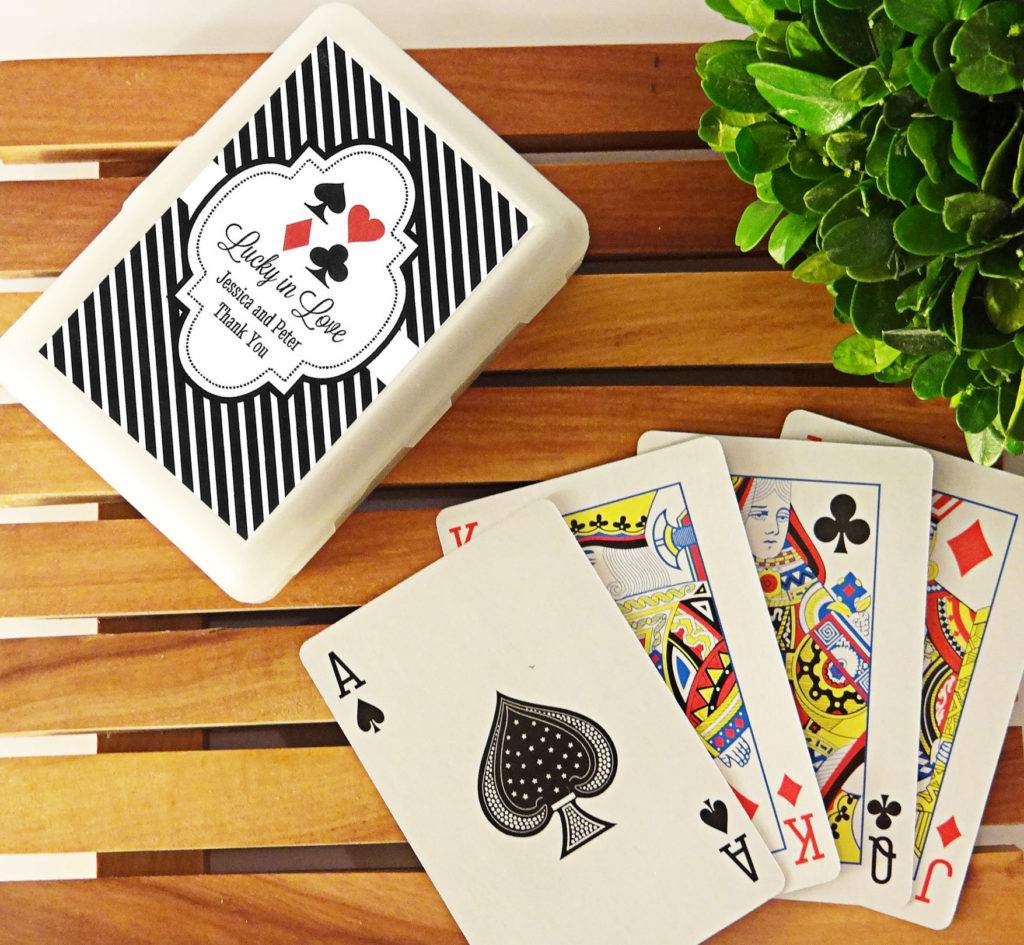 personalized casino las vegas playing cards