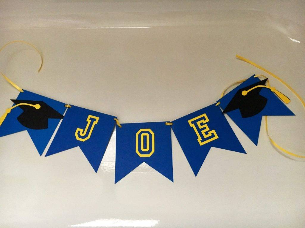 personalized name graduation banner example