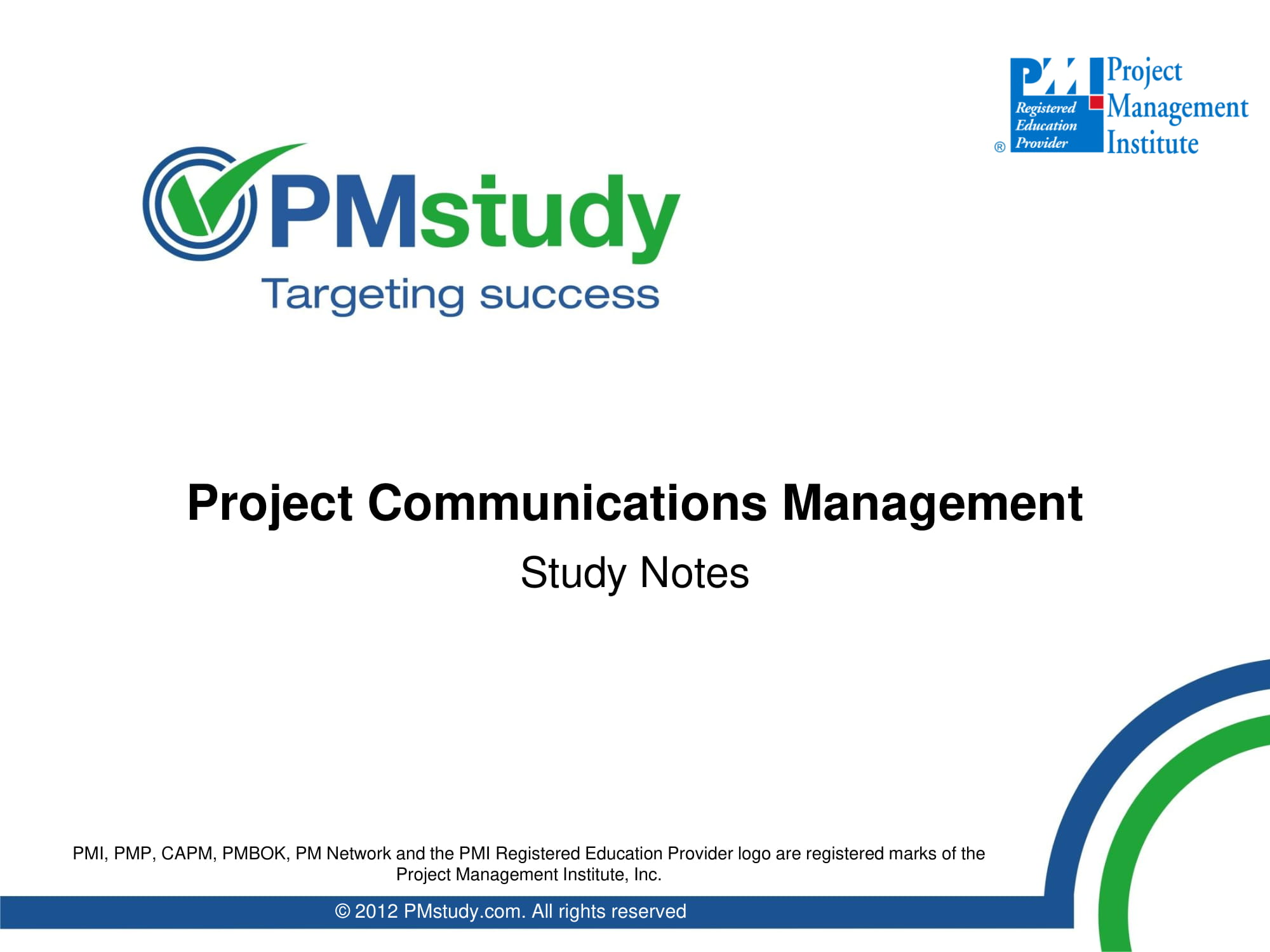 precise project communication management plan example