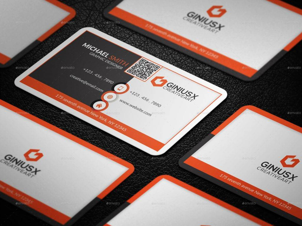 print ready corporate business card
