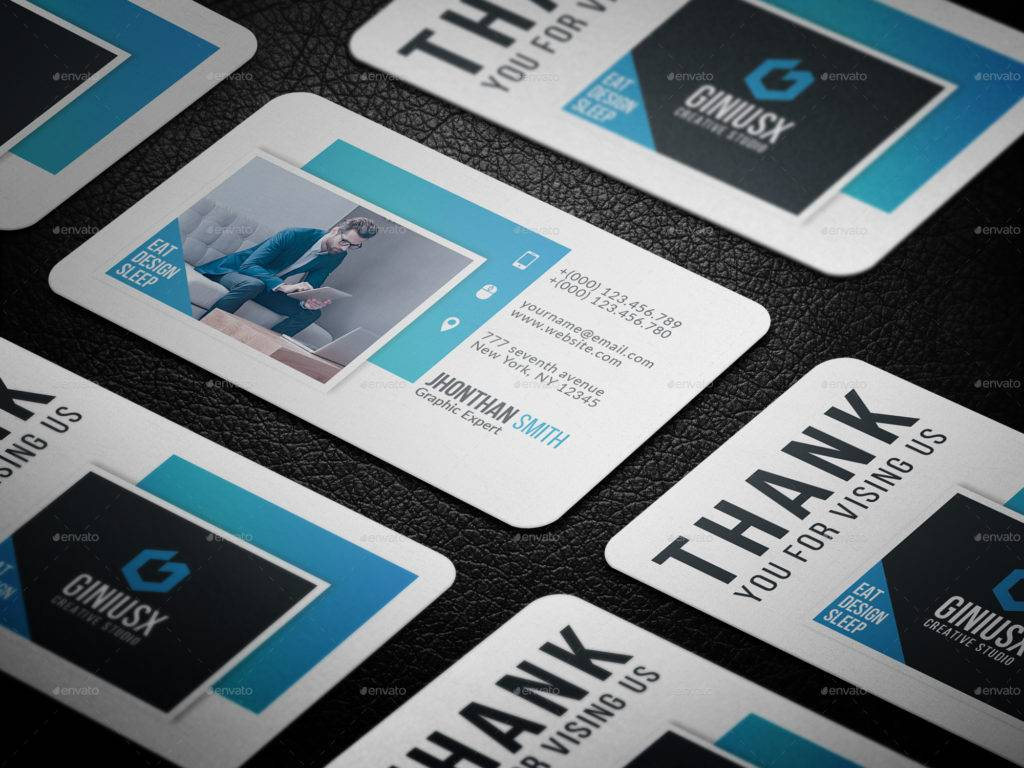 print ready designer business card