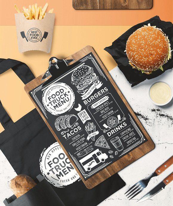 printabe food truck blackboard menu example e1526552019621
