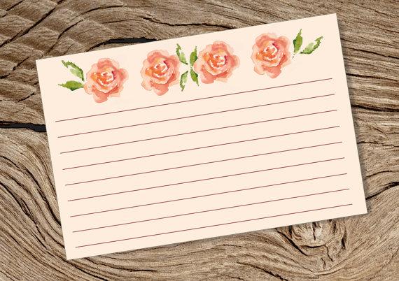 printable 4 x 6 blank index card example
